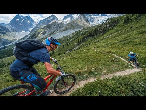 Haute Route - A Mighty Mountain Bike Experience - 4K