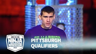 Ryan Ripley at 2015 Pittsburgh Qualifiers | American Ninja Warrior