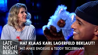 Home is where mein Gegenstand steht mit Anke Engelke & Teddy Teclebrhan | Late Night Berlin