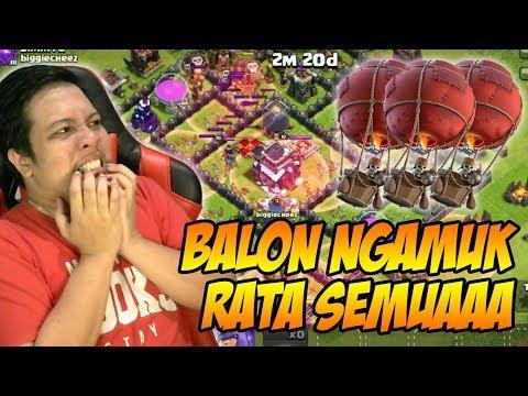 Jangan Lawan Baloon Yang Ngamuk   Clash Of Clans Indonesia