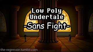 Скачать LowPoly Undertale Sans Fight