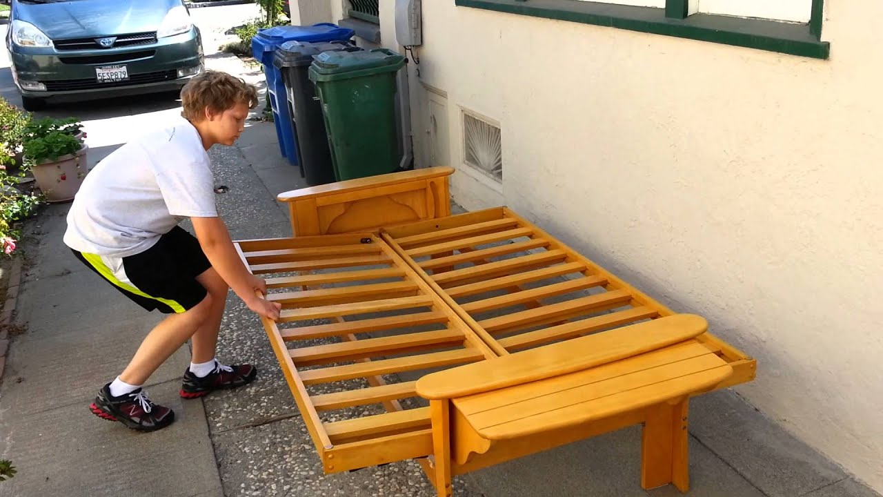 How To Build A Futon Sofa Bed All Old Homes