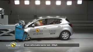 видео Opel Tigra A Crashtest