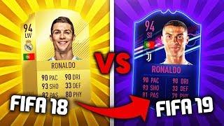 FIFA 18 VS FIFA 19 | NAJLEPSZE I NOWE KARTY!