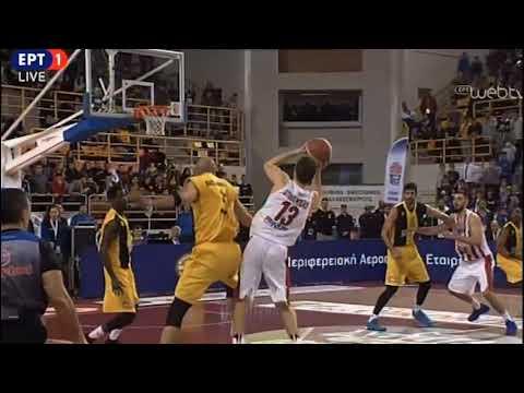 Greek Cup final - Olympiacos - AEK 83-88: The last minute