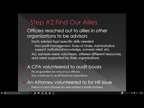 Building A State Advocacy Group