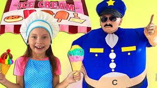 Alice jugar con amigos - mejores historias para quelos niños aprendan profesiones