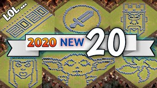 2020 New 20 TH13 FUN Base / TROLL Base Layout + LINK | Clash Of Clans