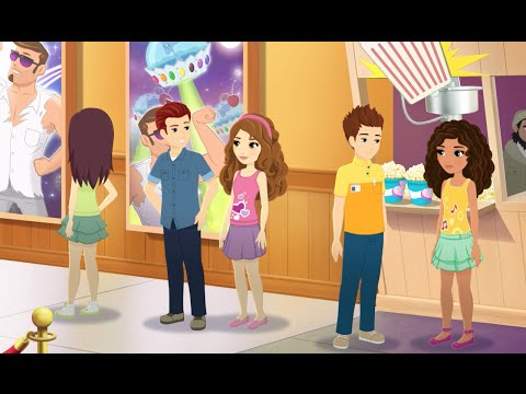 Wait...Is This Like A Date? - LEGO Friends - Season 3 Episode 2