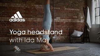 Yoga Headstand with Ida May | adidas women workouts