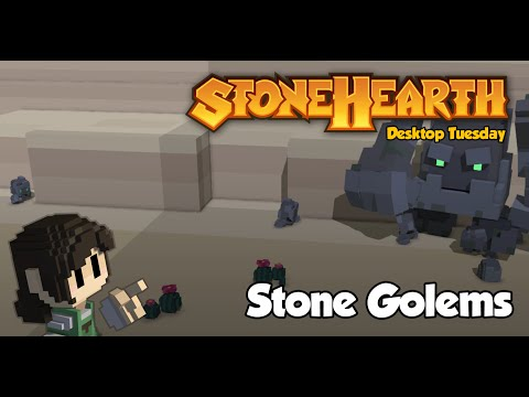 Desktop Tuesday: Stone Golems