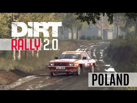 Dirt Rally 2.0 Gameplay | POLAND Polska Łęczna | Opel Ascona 400 | 4K HDR