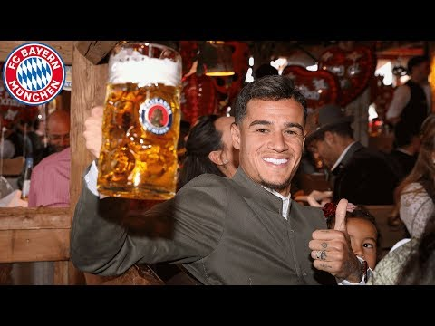 Coutinho, Pavard & Hernandez: 1st time at Oktoberfest with F