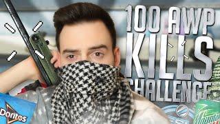 100 AWP KILLS CHALLENGE! - CS:GO