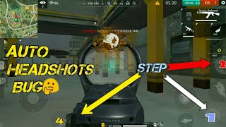 New Trick For Auto Headshot - Garena Free Fire