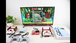 Hướng dẫn kết nối máy chơi game 4 nút lên tivi chuẩn HDMI, AV, Component