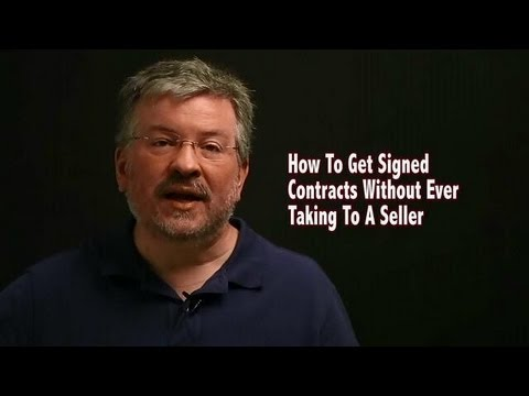 How To Get Signed Contracts Without Ever Talking To A Seller - Real Estate Investing
