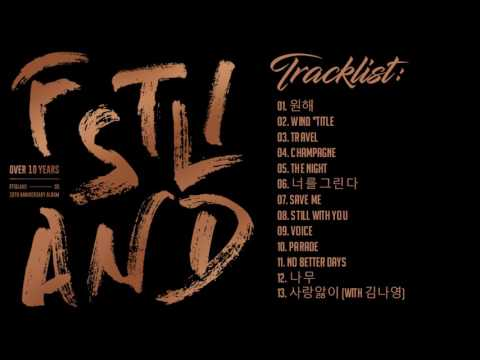 OVER 10 YEARS - FTISLAND  (10th ANNIVERSARY FULL ALBUM).