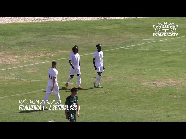 FC Alverca - Vit. Setúbal S23 - Highlights