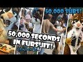 50,000 SECONDS IN FURSUIT! 0.0