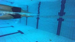 Front core turn in swimming :)