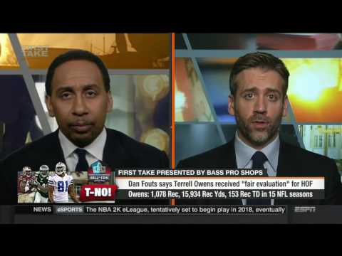 First Take - Dan Fouts Says Terrell Owens Received