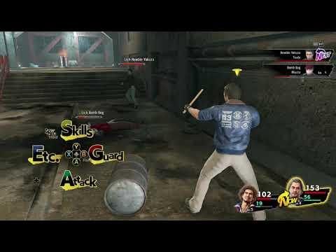 Yakuza  Like a Dragon part13 ichiban underground fight  