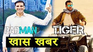 8 Days For Tiger Zinda Hai | Padman Trailer Out Tomorrow | Salman Khan | Akshay Kumar