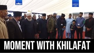 My Moment with the Khalifa of Islam - Inspection Jalsa UK (Ahmadiyya)