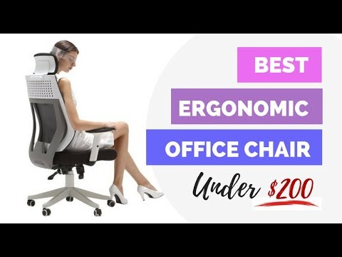 Best Ergonomic Office Chairs Under $200 Reviews (2018 Edition)