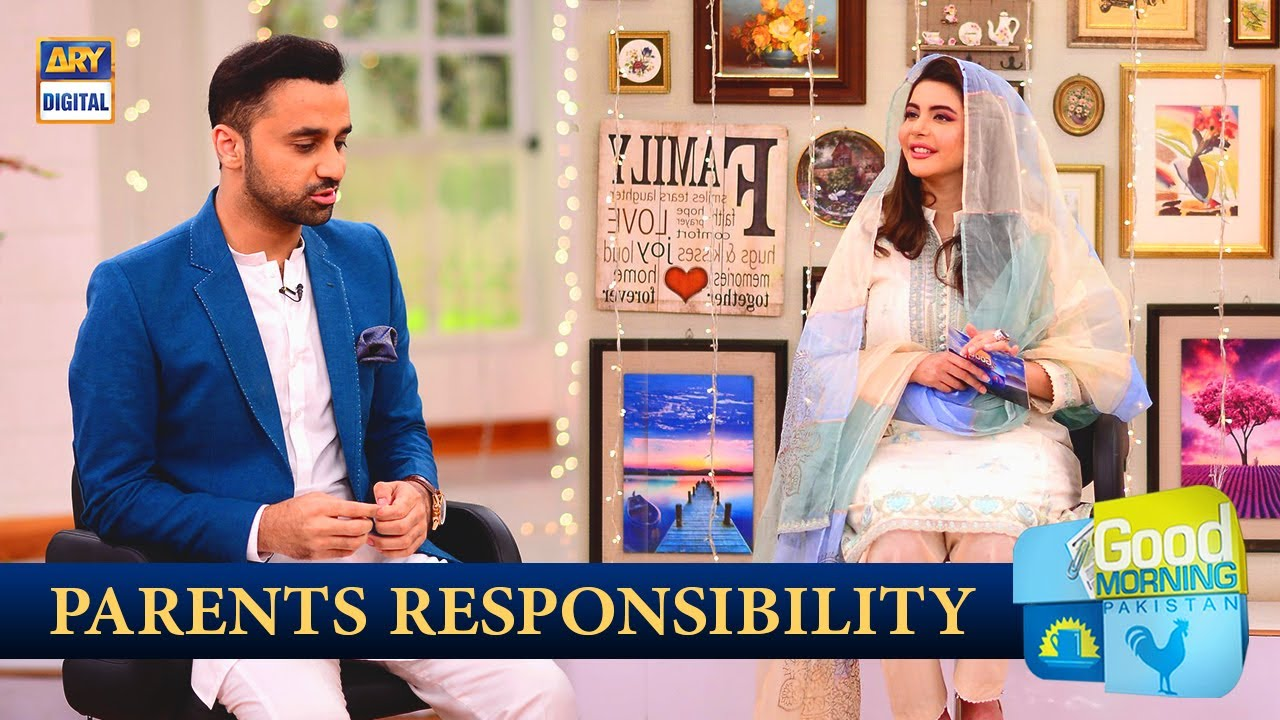 It is Parents Responsibility - Good Morning Pakistan - ARY Digital Show