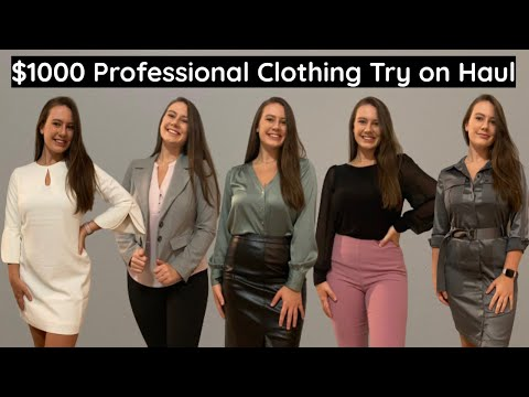 $1000 Professional Clothing Try On Haul (White House Black Market)