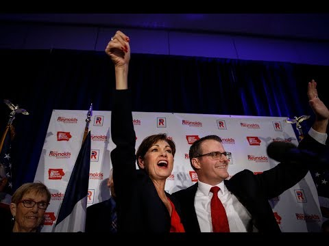 Full speech: Kim Reynolds celebrates being the first elected female governor of Iowa