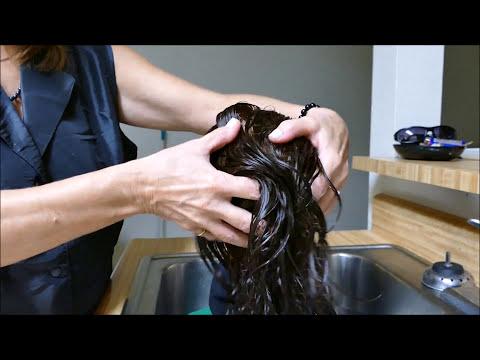 Debbie ~ Pure Aloe Hair Treatment, Hair Brushing, & Scalp Rubs ASMR