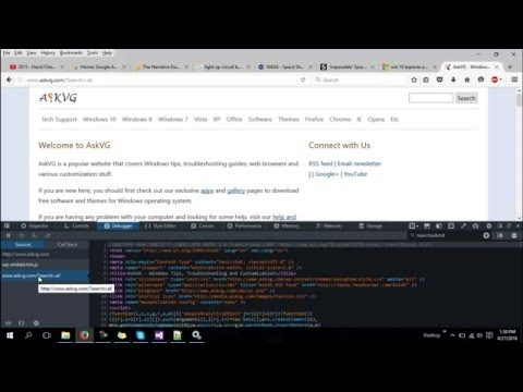 Hacking Any Site Through JavaScript / HTML