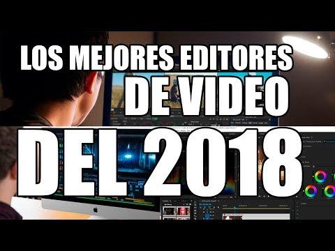 los mejores programas para editar videos 2018