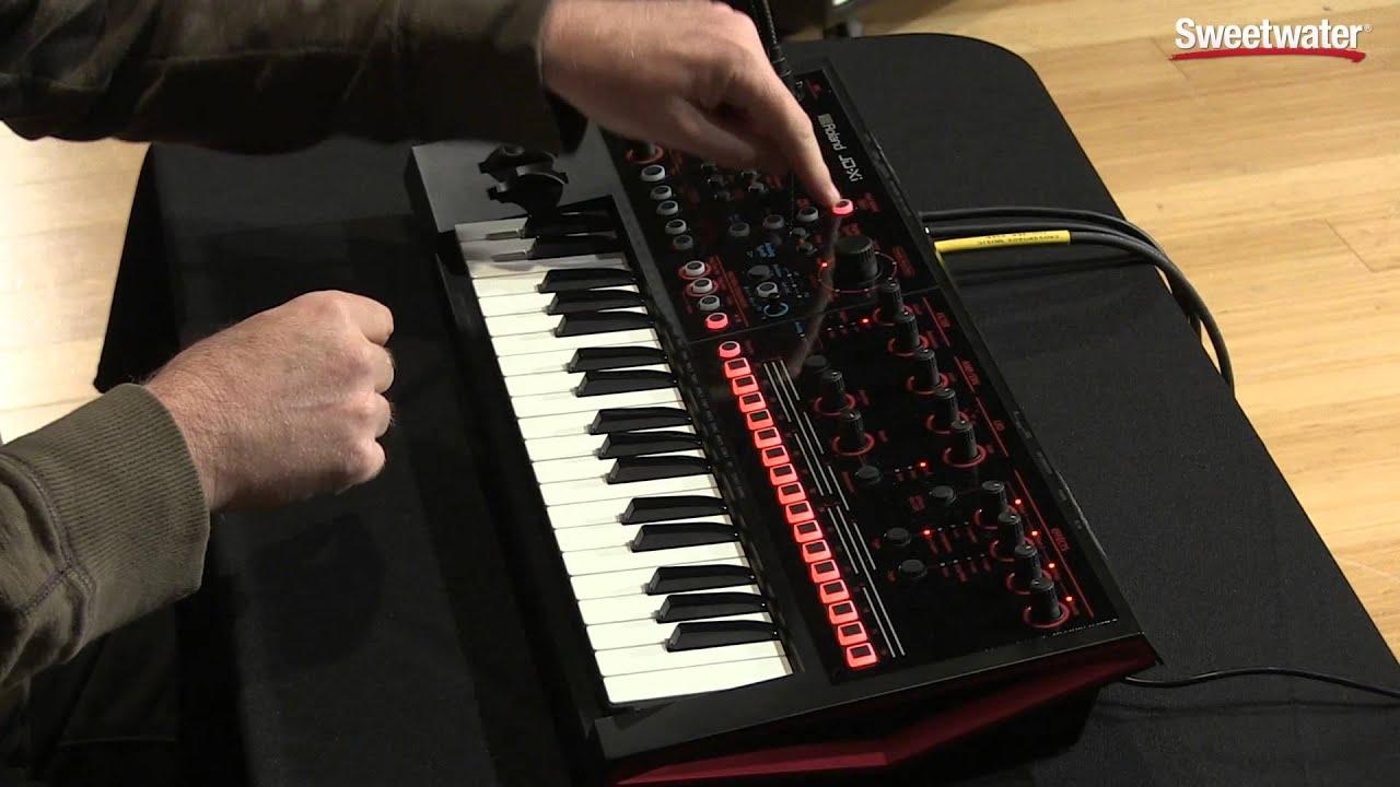 Roland JD-Xi Analog/Digital Synthesizer with Vocoder   Sweetwater