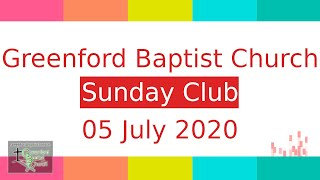 Sunday Club - 5 July 2020