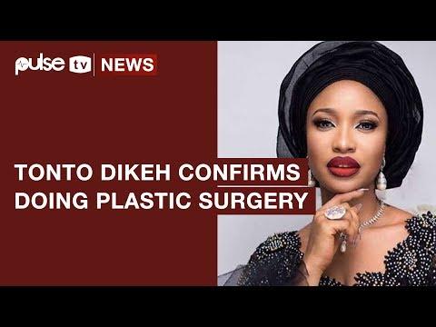 Top Nollywood Actress, Tonto Dike Confirms Having Done Cosmetic Surgery | Pulse TV