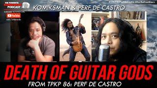 THE DEATH OF THE GUITAR GODS | Komiksman X Perf De Castro