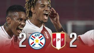 Paraguay vs Perú [2-2]   RESUMEN y GOLES   Fecha 1   Eliminatorias 2020