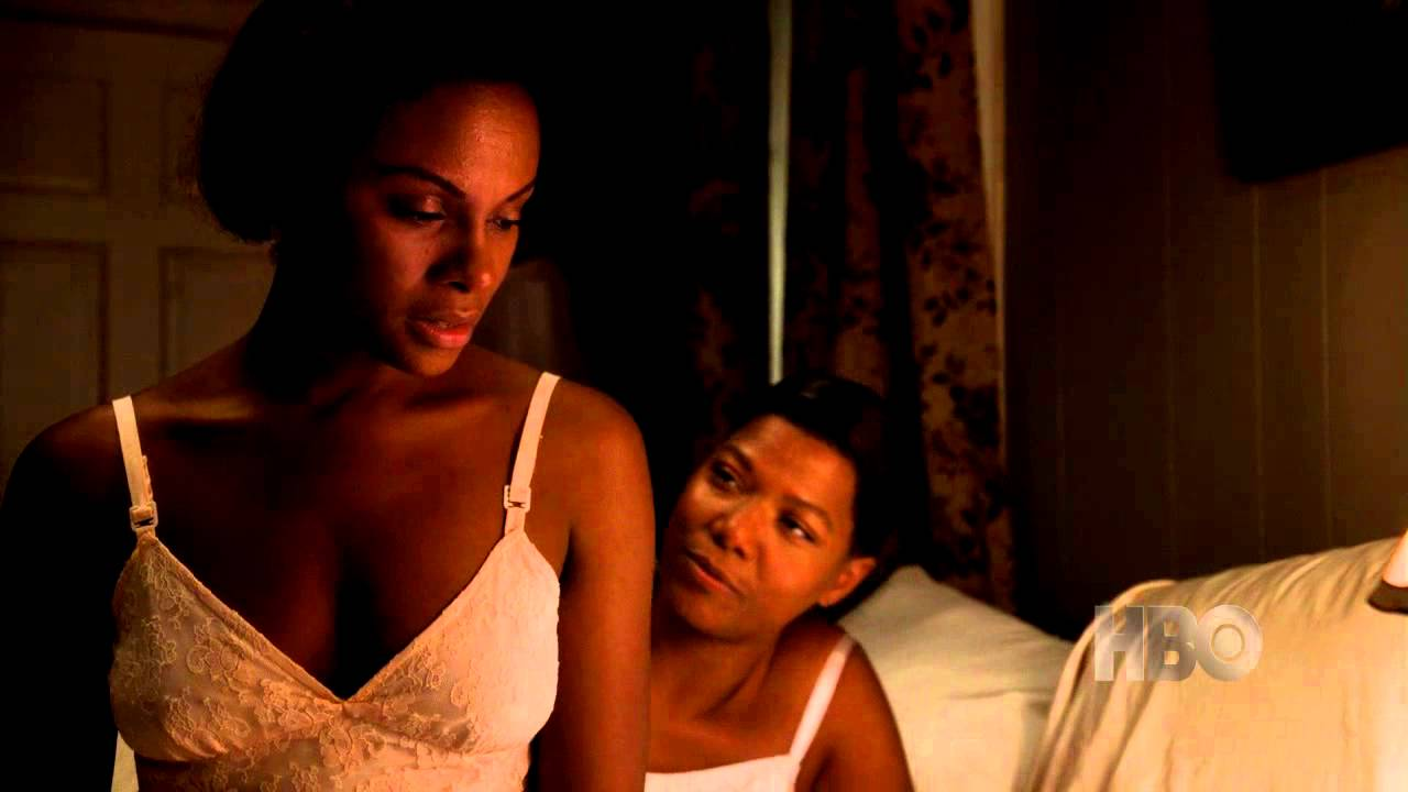 Queen latifah and tika sumpter bessie