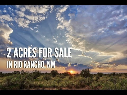 New Mexico Land For Sale: 2 Acres by Rio Rancho in Sandoval County