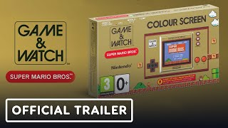 Super Mario Bros. Game & Watch - Official Trailer | Nintendo Direct