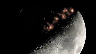 Increíble filmación de Ciudades en la Cara Oculta de la Luna