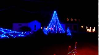 2014 Christmas Lights to Music   Born To Be Alive Original Live Mix