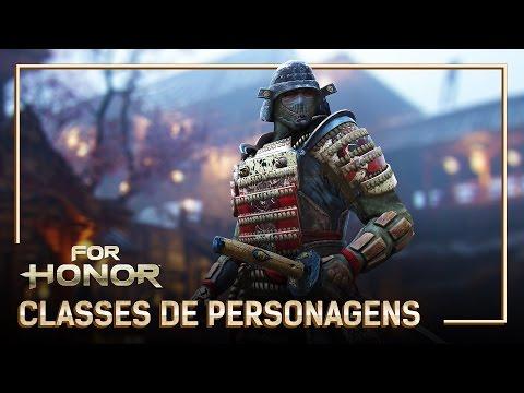For Honor - Trailer - Gamescom 2016 - Classes de Personagens - Legendado PT-BR