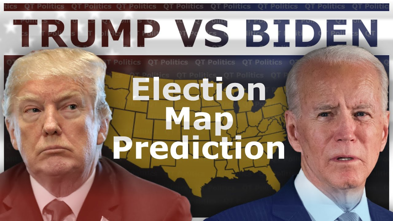 Trump vs Biden 2020 Election Map Prediction | QT Politics