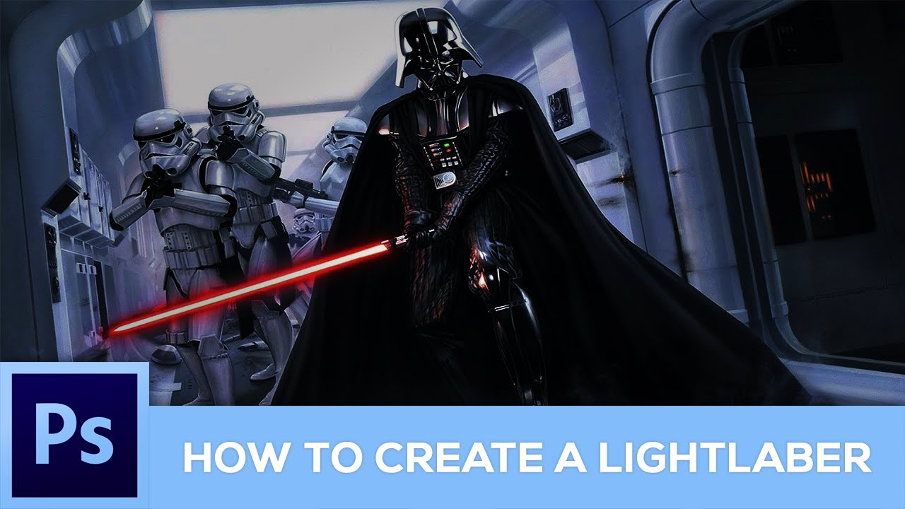 How to create a lightsaber neon effect photoshop tutorial how to create a lightsaber neon effect photoshop tutorial baditri Images