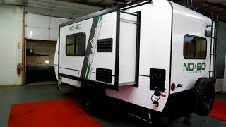 2018 No Boundaries 16.7 by Forestriver NOBO NB16.7 Trailer at Couchs RV Nation a RV Review Tour